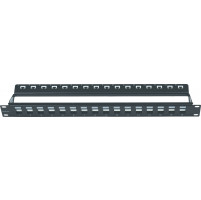 "ΠΡΟΣΟΨΗ - ""MODULAR"" PATCH PANEL ΕΩΣ 16 ΘΥΡΩΝ  (ΓΙΑ JACKS UTP /FTP CAT5e-6-6A)"