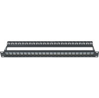 "ΠΡΟΣΟΨΗ - ""MODULAR"" PATCH PANEL ΕΩΣ 24 ΘΥΡΩΝ  (ΓΙΑ JACKS UTP /FTP CAT5e-6-6A)"
