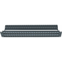 "ΠΡΟΣΟΨΗ - ""MODULAR"" PATCH PANEL ΕΩΣ 48 ΘΥΡΩΝ  (ΓΙΑ JACKS UTP /FTP CAT5e-6-6A)"