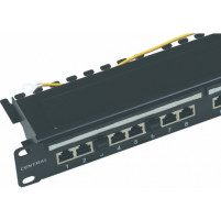 "PATCH PANEL 19"" UTP / FTP CAT6A    (24 ΘΥΡΩΝ)   (ΣΕΙΡΑ: PLUS)"