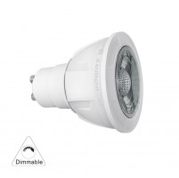 LED COB CREE USA chip (PA-T) GU10 8.5W 230V 36° ΝΤΙΜ. ΘΕΡΜΟ