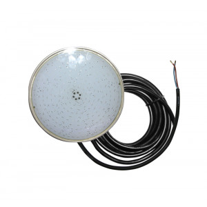 "LED ΛΑΜΠΑ ΠΙΣΙΝΑΣ ΛΕΠΤΗ ΡΗΤΙΝΗΣ (PAR56) <b>30W</b> 12V IP68 <span style=""color: #3366ff;"">9000K</span>"